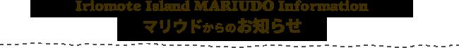 西表島マリウドカヌー